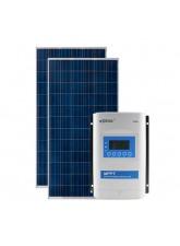 Kit Energia Solar Fotovoltaica 570Wp 12/24Vcc - até 2.183 Wh/dia