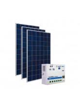 Kit Energia Solar Fotovoltaica 465Wp 12/24Vcc - até 1.510 Wh/dia