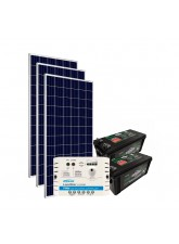 Kit de Energia Solar Off Grid 465Wp com Bateria
