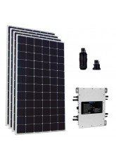 Kit Gerador de Energia Solar com Microinversor Deye 1600W completo