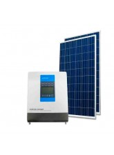 Kit Energia Solar Off Grid Híbrido 670Wp