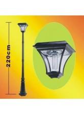 Poste Solar - 29 LED 180 Lumens - GL012
