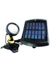 Projetor Solar p/ Jardim 1 LED Branco de Alta Potência - GD035