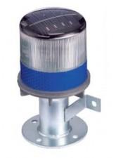 Sinalizador Energia Solar Led - azul