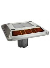 "Marcador Solar a LED para piso (""sinalizador de vias"") - TL404"
