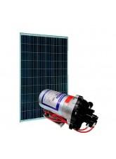 Kit Bomba Solar 12V Shurflo 8000 STD - até 42m ou 2.450 L/dia