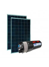 Kit Bombeamento Solar Shurflo 9325 - Poço (180Wp)