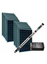Kit Bombeamento Solar Grundfos para poço (1995Wp)