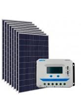Kit Energia Solar Fotovoltaica 1500Wp - até 4872Wh/dia