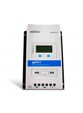 Controlador de Carga MPPT 30A 12/24V - Epever Triron 3210N