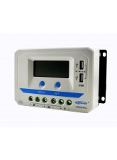 Controlador de Carga PWM 30A 12/24V - Epever Viewstar VS3024Au