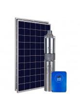 """Kit Bomba Solar PRO Samking 0,5HP 3"""" 3SPF1.5-80 STD - até 80m ou 9.000 L/dia"""