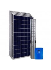"""Kit Bomba Solar PRO Samking 1HP 3"""" 3SP2-9 MAXX - até 66m ou 24.480 L/dia"""