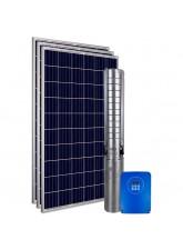 """Kit Bomba Solar PRO Samking 1HP 3"""" 3SP2-9 STD - até 66m ou 23.400 L/dia"""