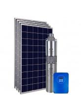 """Kit Bomba Solar PRO Samking 1HP 3"""" 3SPF2-110 MAXX - até 110m ou 12.000 L/dia"""