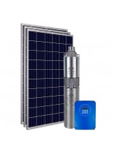 """Kit Bomba Solar PRO Samking 1HP 3"""" 3SPF2-110 STD - até 110m ou 11.760 L/dia"""