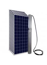"""Kit Bomba Solar PRO Samking 2HP 4"""" 4SP2-13 CC/CA STD - até 130m ou 25.200 L/dia"""