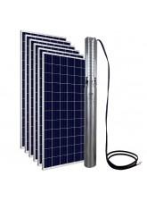 """Kit Bomba Solar PRO Samking 2HP 4"""" 4SP5-10 CC/CA STD - até 110m ou 45.720 L/dia"""