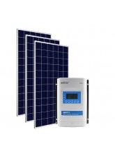 Kit Energia Solar Fotovoltaica 1.005Wp MPPT 24Vcc - até 3859Wh/dia