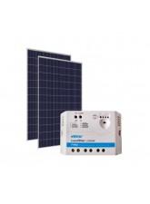 Kit Energia Solar Fotovoltaica 680Wp 24Vcc - até 2144Wh/dia