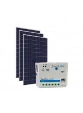 Kit Energia Solar Fotovoltaica 990Wp 24Vcc - até 3216Wh/dia