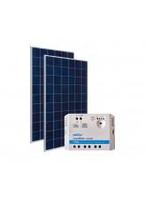 Kit Energia Solar Fotovoltaica 300Wp - até 974Wh/dia