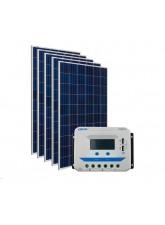 Kit Energia Solar Fotovoltaica 750Wp - até 2436Wh/dia