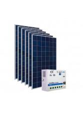 Kit Energia Solar Fotovoltaica 900Wp 24Vcc - até 2923Wh/dia