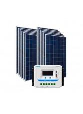 Kit Energia Solar Fotovoltaica 1860Wp - até 5846Wh/dia