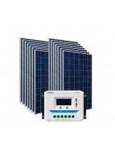 Kit Energia Solar Fotovoltaica 2170Wp - até 6821Wh/dia