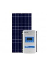 Kit Energia Solar Fotovoltaico 335Wp MPPT 24Vcc - até 1286Wh/dia