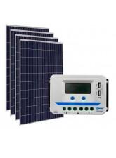 Kit Energia Solar Fotovoltaica 600Wp - até 1949Wh/dia