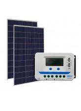 Kit Energia Solar Fotovoltaica 640Wp 48Vcc - até 2304Wh/dia