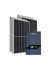 Kit Energia Solar Híbrido Kstar 3200Wp - até 10725Wh/dia