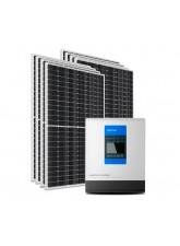 Kit Energia Solar Híbrido Epever 3200Wp - até 1,333Wh/dia