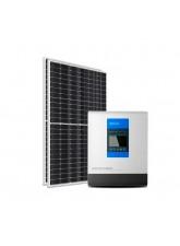 Kit Energia Solar Híbrido Epever 800Wp - até 1,333Wh/dia
