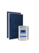 Kit Energia Solar Fotovoltaica 560Wp 24Vcc - até 2144Wh/dia