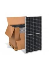 Kit com 10 Painéis Solares Fotovoltaicos 590W - Leapton Solar LP182-M-78-MH