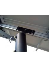 Suporte para Paineis Fotovoltaicos - 3 Painéis de até 150Wp