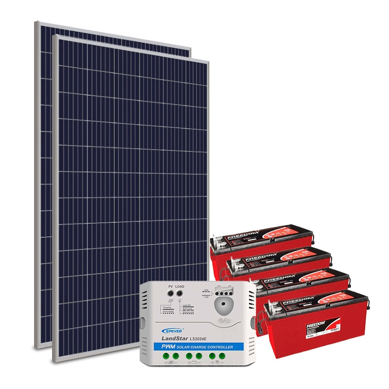 Kit Gerador Off-Grid 660Wp