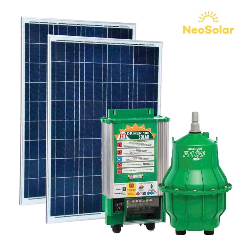 Kit bombeamento Solar 4.600 L/Dia