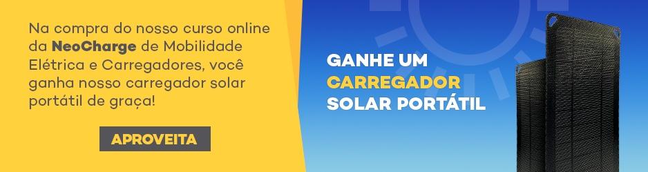 Ganhe um carregador solar portátil