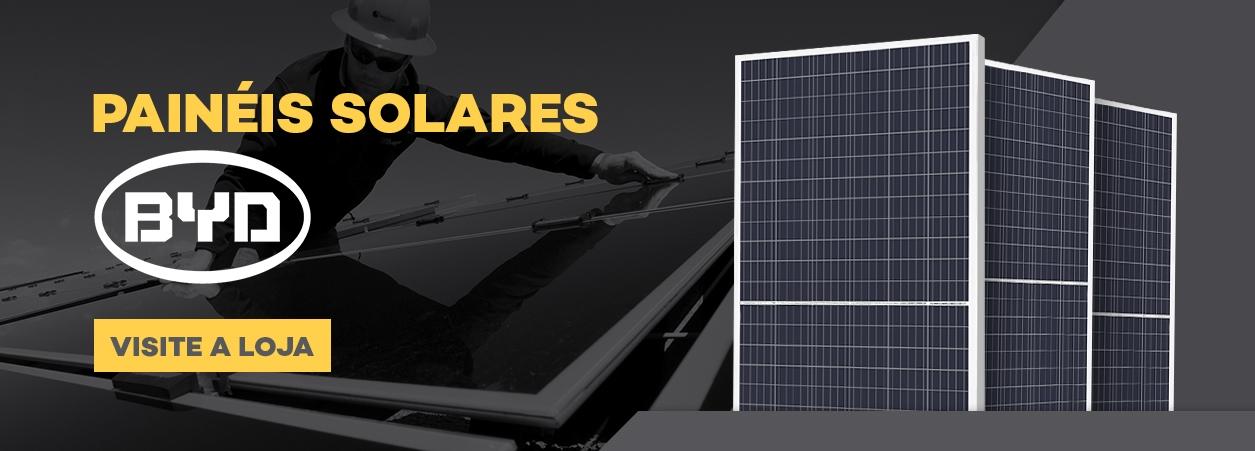 Painel Solar - Painel Solar Fotovoltaico - Módulo Fotovoltaico BYD