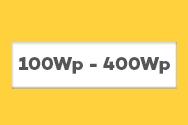 Kit de Energia Solar Off Grid de 100Wp a 400Wp