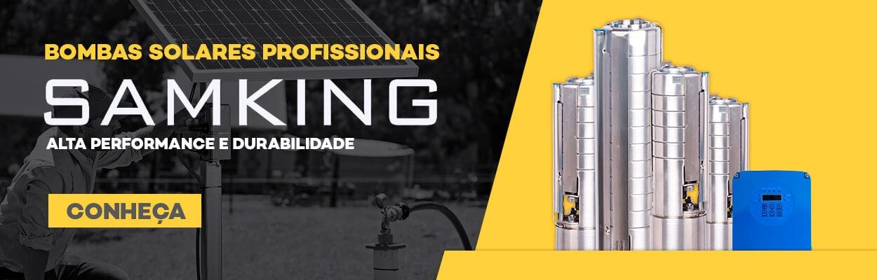 Conheça a Bomba Solar Samking para Energia Solar