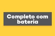 Kit de Energia Solar Off Grid completo com Bateria
