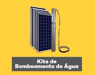 Kit de Bomba Solar - Bombeamento Solar