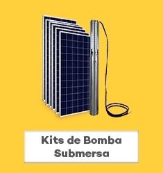 Kit de Bomba Solar Submersa