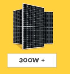 Placa Solar Fotovoltaica - acima de 300Wp