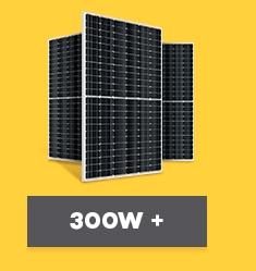 Painel Solar Fotovoltaico acima de 300Wp